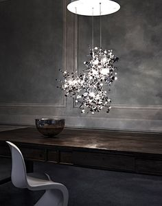 Argent N91S 12 Light Pendant Light