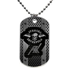 A7X Avenged Sevenfold design personlized style dog tag Dog Tag Size 13X22X01 inches in Diameter -- Learn more by visiting the image link.