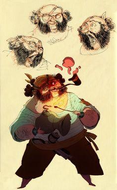 Pirat (color by Clément De Ruyter - http://clement-dr.tumblr.com/ )