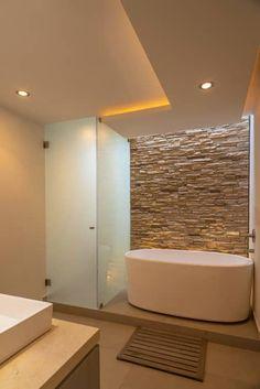 CASA EG: Baños de estilo  por ROMERO DE LA MORA