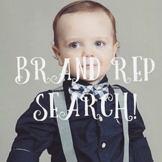 It is our new Instagram #brandrepsearch !  Looking for Boys models  . We are looking for 2 boys to represent our bow ties and  suspenders .  Follow us on Instagram to enter !  @melody_of_cuteness www.Instagram.com/melody_of_cuteness