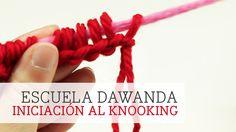 Tutorial: Iniciación al Knooking - Punto y crochet - DIY Tutoriales   DaWanda