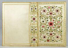 Marie Josephine de Suin Beausacq.  Livre D'or  de la Comtesse Diane.  Pirages | Bindings - Embroidered . 1902
