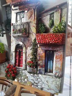 Old houses and my papertole-SÜMBÜL ELDEK