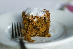 It's Good to Be Three carrot cake with pineapple and raisins