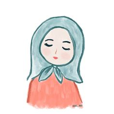 This illustration done by ipadpro with procreate app. Hijabi muslim girl Hijab Cartoon, Cute Emoji Wallpaper, Profile Picture For Girls, Muslim Girls, Happy Girls, Illustration Art, Illustrations, Disney Characters, Fictional Characters