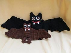 Batty Bat Bundle  By CraftyDebDesign Crocheting Pattern
