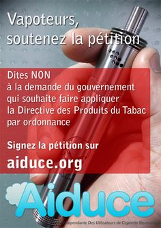 http://smokr.fr/aiduce-appel-tous-smokr-10754 -15% sur l'ensemble du site avec le code AIDUCE