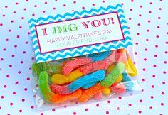 Fingerprint Valentine Cards