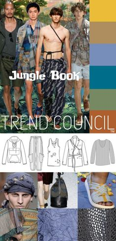 Jungle book- seasonal trend men 2017