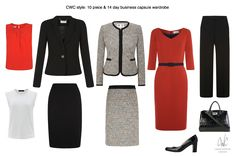 This day capsule is also perfec… Power dressing meets 2015 Executive style. This day capsule is also perfect for a business trip. For more info: capsulewardrobeco… Business Professional Outfits, Business Casual Outfits, Office Outfits, Classy Outfits, Business Wear, Business Travel, Business Formal, Casual Attire, Business Fashion