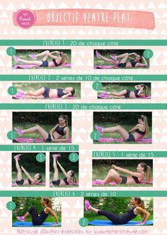 Yoga Fitness Flow - La fiche des exercices pour un ventre plat ! - Get Your Sexiest Body Ever!