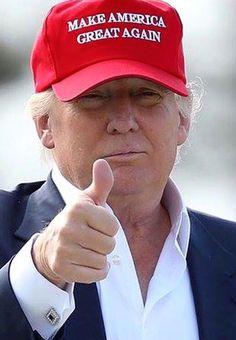 11b1401b033 Make America Great Again Hat RED Donald Trump 2016 Adjustable Mesh Cap