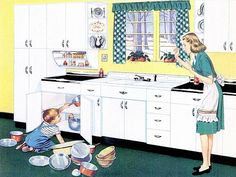youngstown kitchens 1947- my very favorite!!!