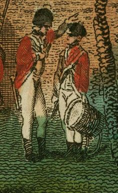 Robert Wilkinson, CORNHILL MILITARY ASSOCIATION, 1799, A.S.K. Brown Military Collection - Drummer detail