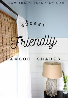 Are you in the market for some inexpensive bamboo shades? Look no further I have found some budget freindly blinds that will update your windows. Bamboo Roman Shades, Woven Wood Shades, Diy Roman Shades, Woven Blinds, Diy Blinds, Window Blinds, Bamboo Curtains, Bamboo Blinds, Pinboard Diy