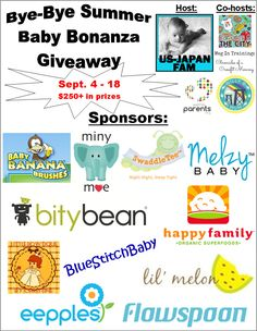 Win this $250 value jackpot of 11 awesome baby products!!