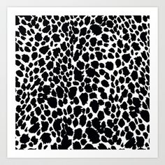 Animal print:Saundramylesart
