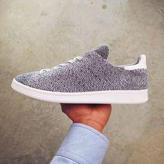 adidas Originals Stan Smith Primeknit: Grey