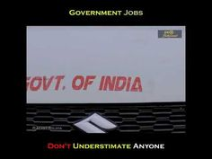 Government Jobs   Don't Understimate Anyone    2019 - Amazing Videos - YouTube Government Jobs, Videos, Amazing, Places, Youtube, Blog, Blogging, Youtubers, Youtube Movies