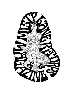 NEW MISTY LANE T-SHIRT!  (Black logo on white cotton shirt). 100% cotton. Available Man/Girl S/M/L