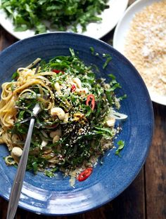Flavour Bomb Greens n' Noodles | My New Roots