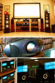 Home Theatre targato Mcintosh in Reggio Emilia. Il videoproiettore e' lo spettacolare Mico 60 a Led dell'italianissima Sim2.  Sistema creato sia per l'Hifi 2 Canali che per l'Home Cinema #homecinema, #mcintosh, #hifi, #stereo, #audiovideo, #sim2' #videoproiezione, #videoproiettori, #dolby, #dolbysurround, #dolbyatmos, # Mc intosh,#audio, #video, #videoproiejctor