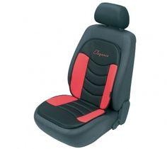 In Schwarz/Rot präsentiert sich der Sitzaufleger Gerini und bietet Ihnen einen durch seine weiche Polsterung einen angenehmen Sitzkomfort.