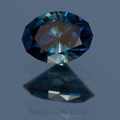 Sapphire custom cut gemstones - Precision Gem