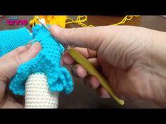 Örgü Oyuncak Bebeklerde Omuz Örme Yapılışı - YouTube