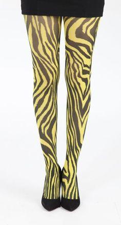 funky zebra tights
