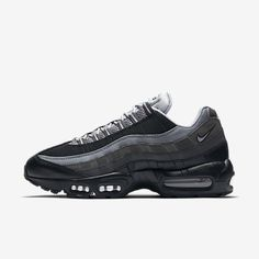 more photos f5fa0 ec9e3 Cheap Nike Air Max 95 Essential Black Anthracite Cool Grey Wolf Grey Sale Nike  Air Max