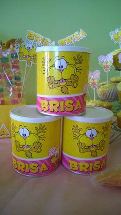 Cumpleaños de Brisa. Temática: Gaturro. #Gaturro #GaturroParty #Souvenirs