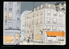 Architecture in Paris, pg 14-15, ©Jason Brooks