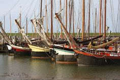 Sailboats in Ameland