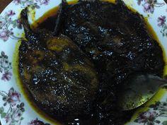 Dari Dapur Orang Kampung Masak Kicap Boyan Style Sayur Asem Kacang Panjang Campur Udang