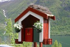 Mailbox rack in Balestrand, Norway Norway Viking, You've Got Mail, Garden Yard Ideas, Post Box, Photo Upload, Mail Art, Mailbox, Trip Planning, Vikings