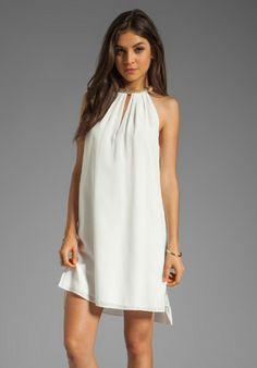 Rebecca Taylor-Sequin Mini Dress in White