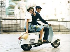 someday i want to ride on a vespa. in rome. behind a gorgeous man. with dark brown eyes. and a great sense of humor. and adventure. but i don't want to be too particular...