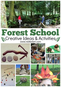 Forest School Activities - Red Ted Art - Carolina Schme - Forest School Activities - Red Ted Art Forest School Activities - get outdoors and get close to nature. Some great Forest School Ideas and Activities for kids. Which is YOUR favourite? Outdoor Education, Outdoor Learning, Outdoor Play, Outdoor Games, Forest School Activities, Nature Activities, Preschool Activities, Outdoor Activities, Preschool Art