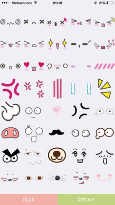 it& a section of super kawaii things Kawaii Faces, Cute Kawaii Drawings, Kawaii Doodles, Cute Doodles, Kawaii Art, Art Drawings Sketches, Doodle Drawings, Cartoon Drawings, Easy Drawings