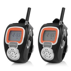 Wrist Watches Walkie Talkies w/ VOX, LCD Display, 2.5km Range, Multi Channels, Auto Squelch - Black . Find the cool gadgets at a incredibly low price with worldwide free shipping here. Wrist Watches Walkie Talkies w/ VOX, LCD Display, 2.5km Range, Multi Channels, Auto Squelch - Black , Walkie Talkies, . Tags: #Electrical #Tools #Walkie #Talkies
