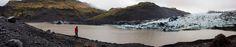 Glacier Panorama #glacier #ice #iceland #Canon #DSLR #EOS