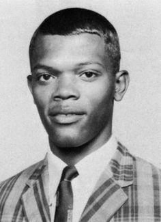 Samuel L. Jackson as a high school senior.