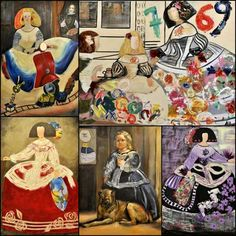 Meninas Art Works, Illustration, Cubism, Various Artists, Painting, Art, Picasso, All Art, Arts And Crafts