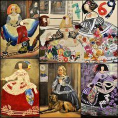 ... Meninas de Velázquez. Cada una de estas artistas nos descubre una