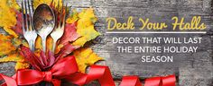 Deck Your Halls: Décor That Will Last the Entire Holiday Season | LC