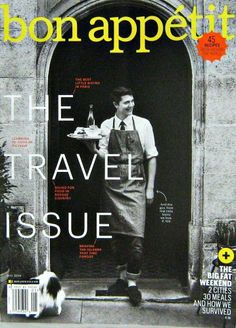 Bon Appetit Magazine, The Travel Issue, May 2014 Vol.59 No.05