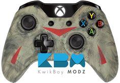 KwikBoy Modz   Custom Controllers  - Friday The 13th Controller #FridayThe13th #XboxOne #CustomController #XboxOneController #JasonVoorhees #Horror #Gaming
