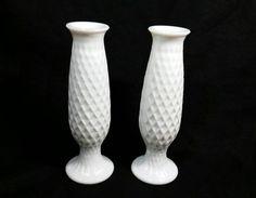 Vintage Milk Glass E O Brody Co C921 Flower by TeaLightedTeacups